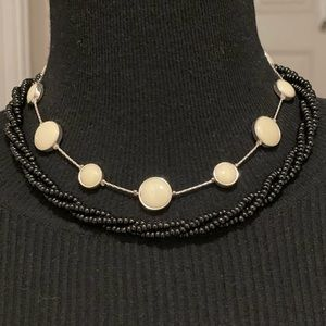 """2/$17 Vintage Jewelry Necklaces, 16.5"""" & 20"""" long"""